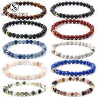 Haut QualityTiger yeux Agate Redstone brace pour les hommes de guérison équilibre perles naturelles Yoga Bracelet Ajuster Pray richesse Bijoux-Y chanceux