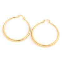 Groothandel grote cirkel hoepel oorbellen Ethiopische elegante gouden vergulde basketbal vrouw oorbellen voor vrouwen meisjes sieraden