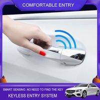 Car Smart Key avec poignée de porte oem oem rouleau sans clé de la fenêtre du module d'accès confort d'entrée pour Mercedes Benz Classe C W205