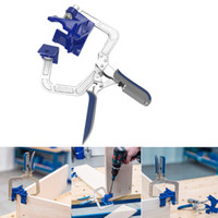 90 Degree Right Angle Woodworking Clamp Picture Frame Corner Clip Tools Clamps for Woodworking Dropship Free Shipping