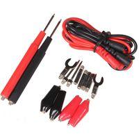 16 Adet / takım Dijital Multimetre Probu Testi Kurşun Kablo Timsah Klip 90 cm İğne İpucu Probe Testi Pin Tel Kalem Cabl Talepleri