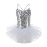 다이아몬드 스커트 체조의 옷을 입은 소녀 슬리밍 밝은 바디 슈트 발레 체조 춤 고품질 교육 의류 소녀