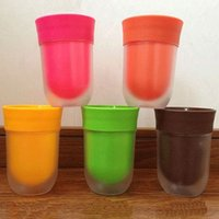 Kreative Saft Flavoured Water Cups Flach Cups PP Tumbler Plain Wasser Tastes Like Fruit The Right Cup Fashion Cup