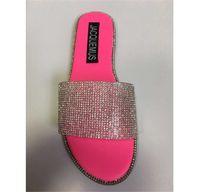 여름 샌들 여성 2020 신발 여성 샌들 플랫 패션 비치 슈즈 여성 샌들 (6 개) 색상 새로운 PH-CFY20050913
