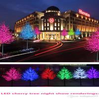 Ramas holiday luz LED árbol de la flor de luz de 1,5 m 1,8 m Año Nuevo boda del árbol decorativo de la lámpara iluminación exterior