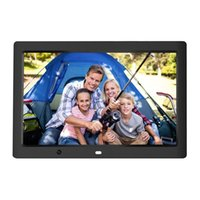 12inch HD Digital Photo Frame-Bewegungs-Sensor LED-Bilderrahmen mit drahtloser Fernbedienung Musik MP3 Video MP4