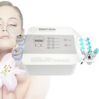 bir hidro-çözüm tedavi Oksijen İnfüzyon Cilt Islatma Terapisi ile taşınabilir hydrofacial hydrodermabrasion makinesi Nazik cilt soyma