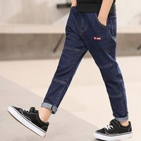 IENENS Spring Autumn Children Boys Straight Jeans Troures De...