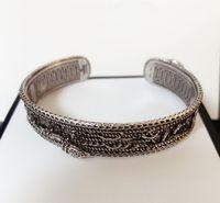 Modemarke Have Stempel Schlangen Lieber Knöchel Charme Designer Armbänder für Männer und die Frauen Geschenk Engagement Hochzeit Luxus-Schmuck-Liebhaber