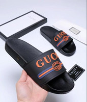 2019 Designer Rubber Slide Sandal Tiger Slide Beach Designer...