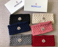 Designer Winter Wool Headbands For men and Women Luxury Bran...