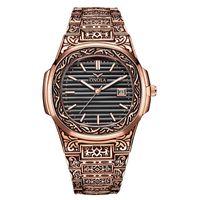 CWP 2021 Onola Designer кварцевые часы Уникальный подарок наручные часы водонепроницаемый мода повседневная старинные золотые классические роскоши
