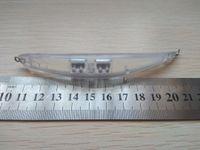 Gibi Muskie Yem Dying 10pcs Boyasız Boş Lure Vücut Twitch Balıkçılık Lure 110mm 9g Minnow Viraj Gövde Stili