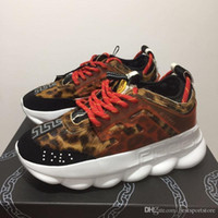 w7 nuova reazione a catena di lusso casual designer sneakers sport moda scarpe casual trainer leggero link-rilievo in rilievo size5.5-11