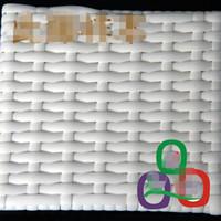 500G 60M الأبيض الروطان اللون التقليد شقة الاصطناعية النسيج والمواد البلاستيكية PE الروطان لمتماسكة والجدول إصلاح كرسي، التخزين ... الخ