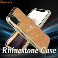 Rhinestone Diamond Sparkling Glitter Phone Cases For iPhone ...