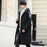 2019 explosion models men' s down jacket Korean casual y...