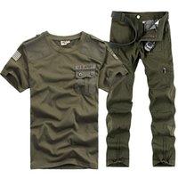 Us Army Tracksuits Sport Sets Herren Militärisches Training Camping Wandern Outdoor Laufen Suits Serve Army-Fans Uniform