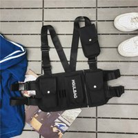 CASMOR Chest Rig Waist Bag 2019 Fashion Unisex Hip Hop Stree...