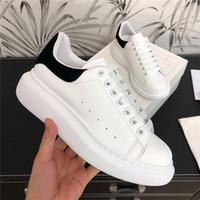 Мода Мужская Женская повседневная обувь Красивые туфли на платформе кроссовки Velvet кожа партии тенниса Chaussures New Box