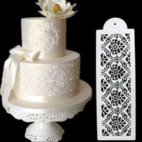Damask Lace Border Cake Side Stencil Sugarcraft Decoration B...