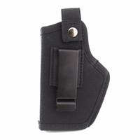 Gauche Droite Étui de pistolet universel dissimulé Pince de ceinture en métal Clip Airsoft Gun