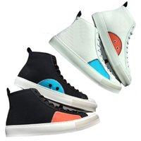 DHL شحن مجاني جديد رجالي الوشم حذاء رياضة جزمة فاخر مصمم أحذية أزياء الرجال الاحذية الرياضية قماش مدرب حذاء رياضة حذاء عارضة
