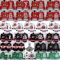 Chicago Blackhawks Jerseys Hombres Hockey 2 Keith 19 Toews Crawford 88 Kane Griswold Hossa 7 Seabrook 10 Sharp 20 Saad