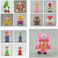 Hot Sale 13 Style 12CM High Quality PVC Super Mario Bros Lui...