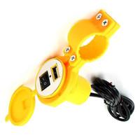 1pc étanche 12V à 5V 1.5A Motorcycle Smart Phone GPS USB Chargeur adaptateur secteur moto