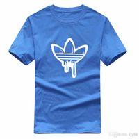 100% coton 2020 ronde Hommes Mode cou à manches courtes T pierres Hip Hop Sweat-shirt de haute qualité Hommes Île M-2XL
