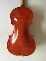 fatti a mano violino Principiante 4/4 Full Size acustica naturale del violino di legno solido strumento a corde Con il Brasile arco accessori fabbrica all'ingrosso