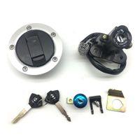 Выключатель зажигания нового топливного газа Крышка сиденье Блокировка ключ Набор для Suzuki GSXR600 / 750 2004-2016 GSXR1000 2003-2016 GSXR1300 2008-16 SV650 / SV1000 2003-16