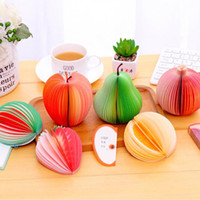 DIY 3D Fruit And Vegetable Sticky Notes Multi 70 Sheets Stereo N Stickers Message Notes & Notepads Office & School Supplies HA681