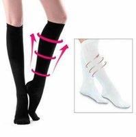 2 Colors Slimming Leg Socks Achy Legs Feet Anti Fatigue Stoc...