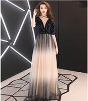 2019 yılında, yeni ünlü parti elbise, doğum günü partisi elbise, ev sahibi yıldız abiye, koyu mavi renk, fabrika düşük maliyetli Promosyon