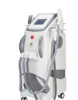 2020 New 360 magnéto-optique professionnel OPT SHR E-lumière IPL RF laser Nd Yag tatouage Épilation Salon Utiliser la machine multifonction