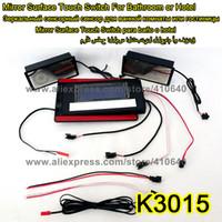 K3015 Serie Lichtspiegel Touch-Schalter mit Bluetooth-Funkfunktion Wasserdichte Lichtspiegel Bluetooth-Lautsprecher 17 Stück pro Los
