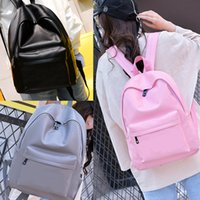 Backpack Pink Letter Travel Bag PU Sequins Waterproof Teenag...