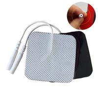 50pcs de électrodes auto-adhésives tampons de massage pad pour stimulateur musculaire TENS thérapie appareil électrique nouveau