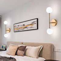 빈티지 LED 램프 유리 벽 전등 설비 블랙 보루 현대 거실 침실 계단 장식 홈 조명 G9 광택 110-220V