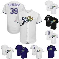 Tampa Bay Jersey 12 Wade Boggs 4 Blake Snell 39 Kevin Kierma...