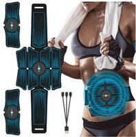 EMS Bauchgurt Elektrostiimulation ABS Muskelstimulator Hip Muskeltrainer Toner Home Gym Fitnessgeräte Frauen Männer