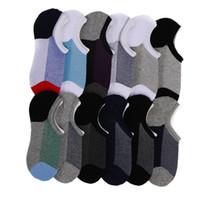Herren Low Cut No Show Lässige Crew Knöchel Rutschfeste Socken Baumwolle Mesh Top Frische Belüftung Liner Socke