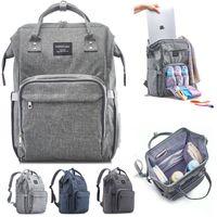 All'ingrosso ampio sacchetto di pannolini da viaggio eco-friendly zaino impermeabile da viaggio mummia pannolini da viaggio, borsa in tasca isolata