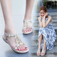 Beach soft bottom sexy personality sandals female Xia Ping b...