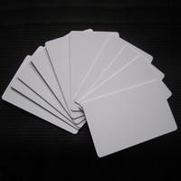 100pcs brillant jet d'encre PVC blanc carte meilleur prix pour Epson R280 R290 R330 R390 A50 P50 L800 L801 Canon IP4600 4700