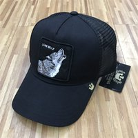 Luxury Baseball Hats Embroidery Wolf Caps 24 Colors Summer M...