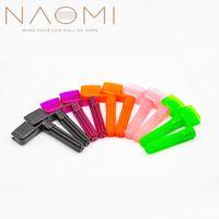 NAOMI 10PCS 기타 String Winder Peg Speed Peg 풀러 브릿지 기타 현악기 튜너 어쿠스틱 일렉트릭 기타 부품 액세서리