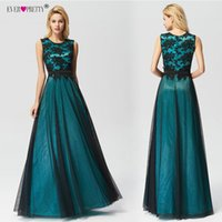 Vestido de Festa Longo Ever Pretty Real Photo Lace Appliques...